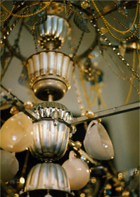 Chandeliers by special commission