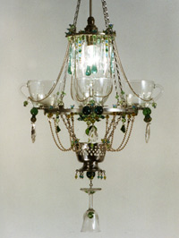 quartet chandelier